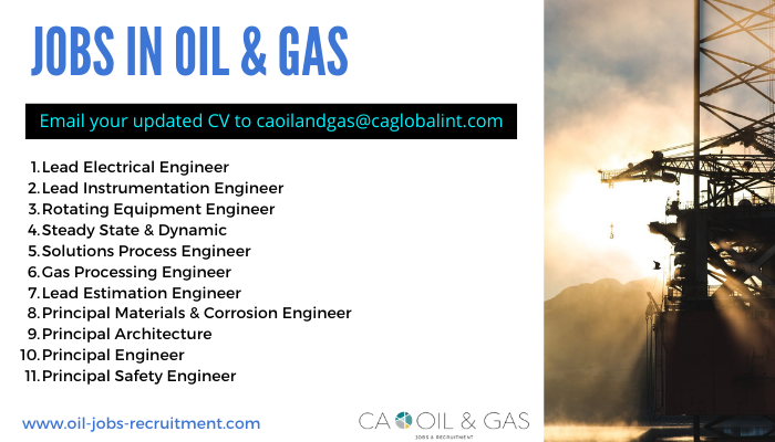 Jobs in Oil and Gas